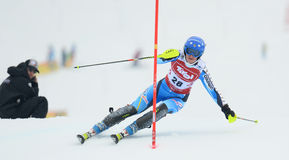 FIS Europa Cup - Women's Slalom Stock Photos