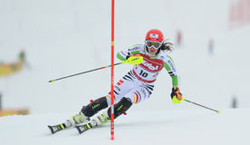 FIS Europa Cup - Women's Slalom Royalty Free Stock Photo
