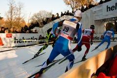 fis för kopp för stadslandskors race världen Royaltyfria Bilder