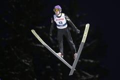 FIS Ski jumping World Cup in Zakopane 2016 Stock Image
