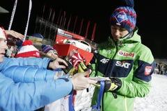 FIS Ski jumping World Cup in Zakopane 2016 Stock Photo