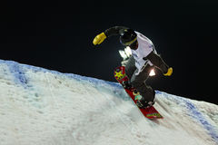 FIS Snowboard Big Air World Cup Royalty Free Stock Images