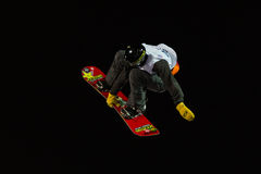 FIS Snowboard Big Air World Cup Royalty Free Stock Photo
