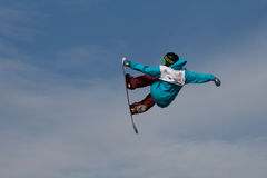 FIS Snowboard Big Air World Cup Stock Images