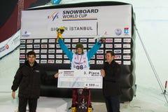 FIS Snowboard Big Air World Cup Stock Photos