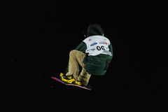 FIS Snowboard Big Air World Cup Royalty Free Stock Image