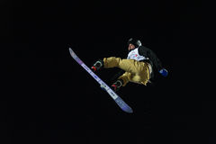 FIS Snowboard Big Air World Cup Royalty Free Stock Photos