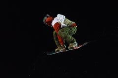 FIS Snowboard Big Air World Cup Royalty Free Stock Image