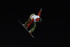 FIS Snowboard Big Air World Cup Stock Image