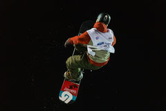 FIS Snowboard Big Air World Cup Stock Photos