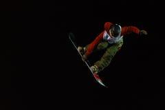FIS Snowboard Big Air World Cup Stock Image