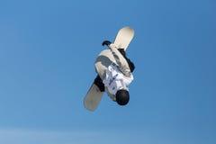 FIS Snowboard Big Air World Cup Royalty Free Stock Photo