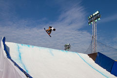 FIS Snowboard Big Air World Cup Stock Photography