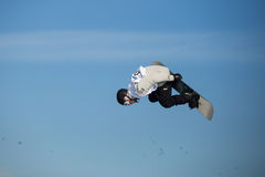 FIS Snowboard Big Air World Cup Royalty Free Stock Photography