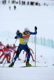Fis Weltcup-nordisches kombiniert stockfoto