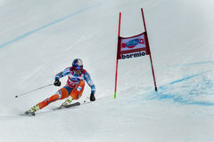 Fis world cup Bormio 2013 Stock Images