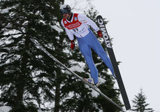 Fis World Cup Nordic Combined Royalty Free Stock Photo