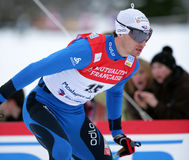 Fis World Cup Nordic Combined Stock Photo