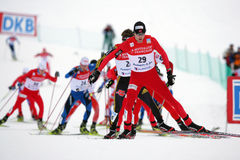 Fis World Cup Nordic Combined Royalty Free Stock Photos