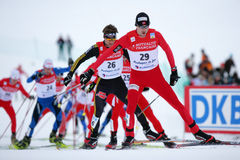 Free Fis World Cup Nordic Combined Stock Photo - 12563930
