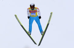 Fis World Cup Nordic Combined Royalty Free Stock Images