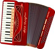 Fisarmonica Fotografie Stock