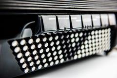 Fisarmonica del bottone di Digital Fotografia Stock Libera da Diritti
