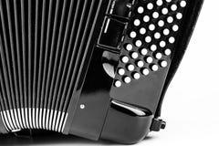Fisarmonica del bottone di Digital Fotografie Stock Libere da Diritti