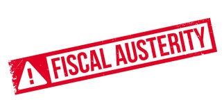 Fiscal Austerity rubber stamp Royalty Free Stock Photos
