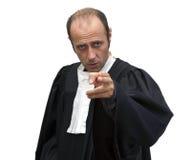 Fiscal de distrito Imagen de archivo libre de regalías