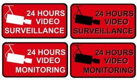 Fiscalização video ilustração do vetor