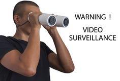 Fiscalização video Imagens de Stock
