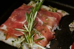 Fisch-Abendessen Stockfotos