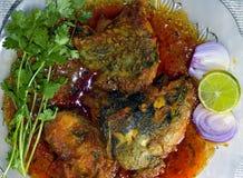 Fisch-Curry stockfotos
