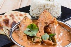 Fisch-Curry Lizenzfreies Stockfoto