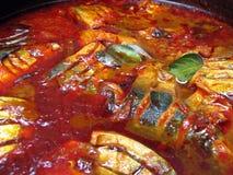 Fisch-Curry Lizenzfreies Stockbild