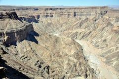 Fisch-Fluss-Schlucht, Namibia Lizenzfreie Stockfotos