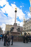 Mary Column in Munich Stock Photo