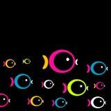 Fisch-Hintergrund Stockbild