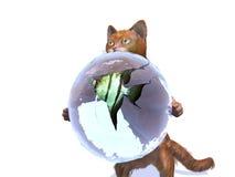 Fisch-Katze Stockbild