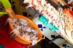 Fisch marknad Arkivbild