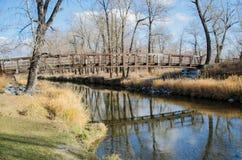 Fisch-Nebenfluss-provinzieller Park Lizenzfreie Stockfotos