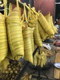 Fisch-Nudelsuppe Chau Doc. stockbilder