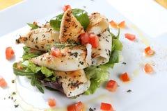 Fisch-Salat Lizenzfreie Stockfotografie