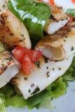 Fisch-Salat Stockbild