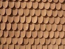 Fisch-Skala-Auslegung auf Wand (Schachen Haus) Lizenzfreie Stockfotografie