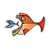Fisch-Tierkreis Stockfoto
