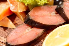 Fischaperitif lizenzfreie stockbilder