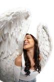 Fischaugenengel wings Portrait Lizenzfreie Stockfotografie