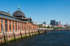 Fischauktionshalle Hamburg market Royalty Free Stock Photography